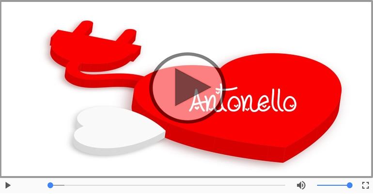Cartoline musicali d'amore - Antonello, Ti amo tanto!