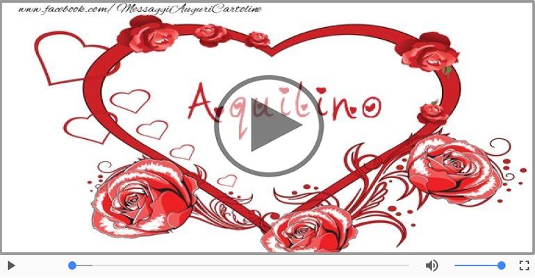 Cartoline musicali d'amore - Aquilino, Sei il grande amore della mia vita!