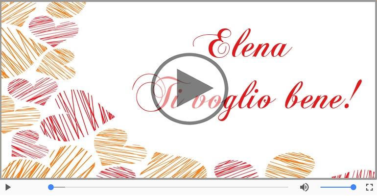 Cartoline musicali d'amore - Elena, Ti amo tanto!