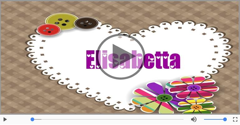 Cartoline musicali d'amore - Ti amo Elisabetta!