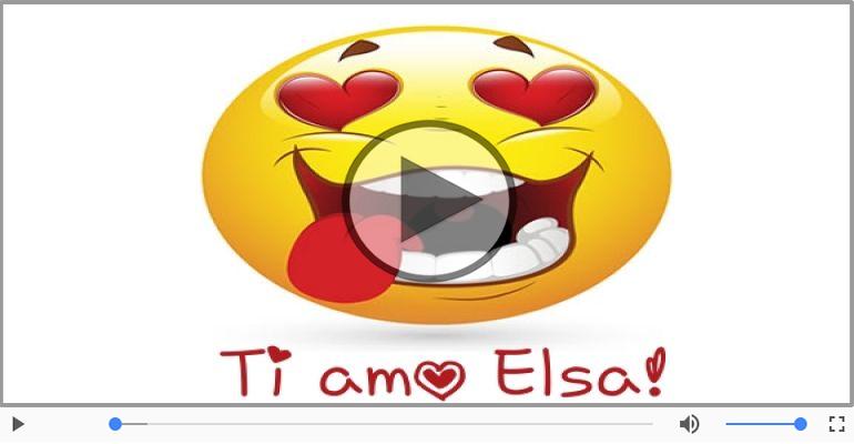 Cartoline musicali d'amore - Elsa, Ti amo tanto!