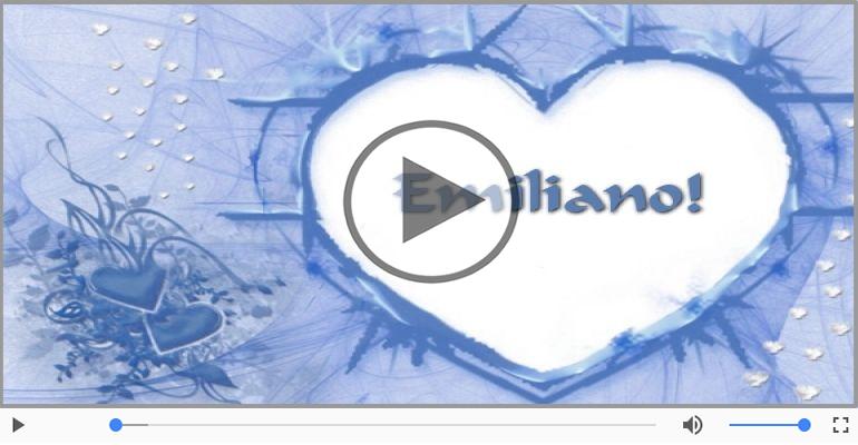 Cartoline musicali d'amore - Emiliano, Ti amo tanto!