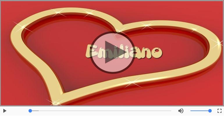 Cartoline musicali d'amore - Emiliano, Sei il grande amore della mia vita!