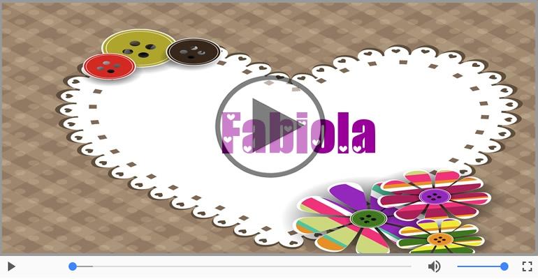 Cartoline musicali d'amore - Ti amo Fabiola!