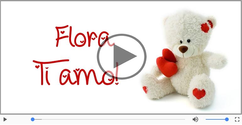Cartoline musicali d'amore - Flora, Ti amo tanto!