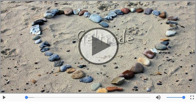 Cartoline musicali d'amore - Geltrude, Ti amo tanto!