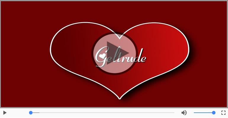 Cartoline musicali d'amore - Geltrude, Sei il grande amore della mia vita!