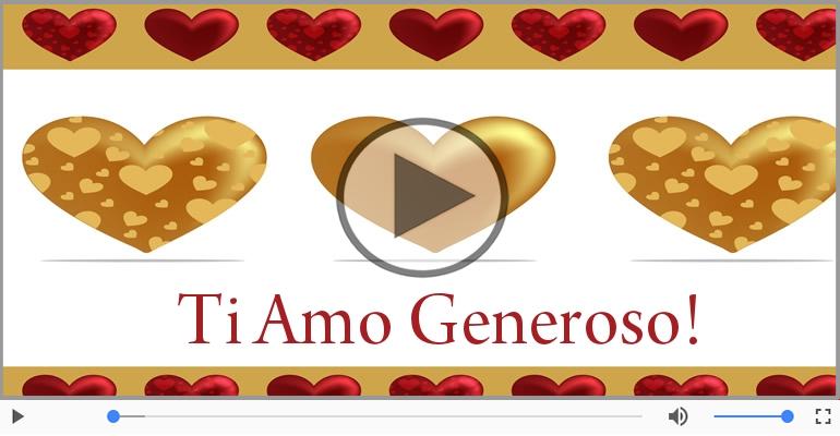 Cartoline musicali d'amore - Generoso, Sei il grande amore della mia vita!