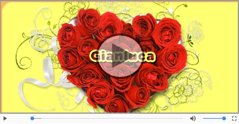 Cartoline musicali d'amore - Ti amo Gianluca!