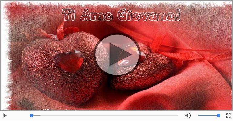 Cartoline musicali d'amore - Giovana, Sei il grande amore della mia vita!