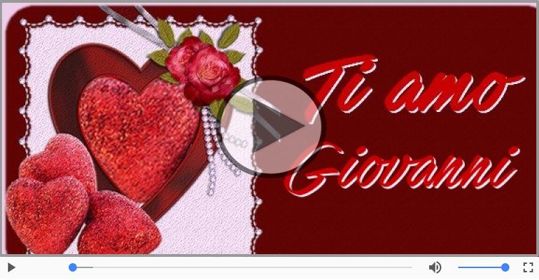 Cartoline musicali d'amore - Giovanni, Ti amo tanto!