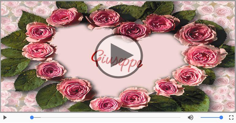 Cartoline musicali d'amore - Giuseppe, Ti amo tanto!