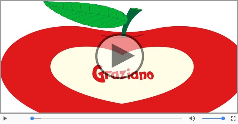 Cartoline musicali d'amore - Ti amo Graziano!