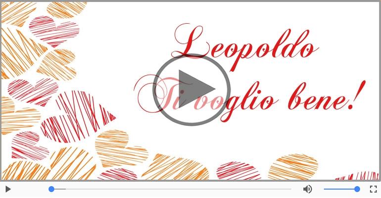 Cartoline musicali d'amore - Leopoldo, Ti amo tanto!