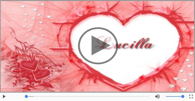 Cartoline musicali d'amore - Lucilla, Sei il grande amore della mia vita!
