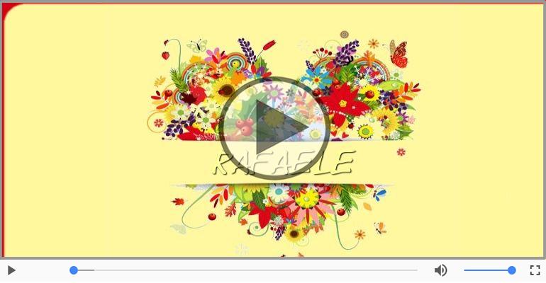 Cartoline musicali d'amore - Ti amo Rafaele!