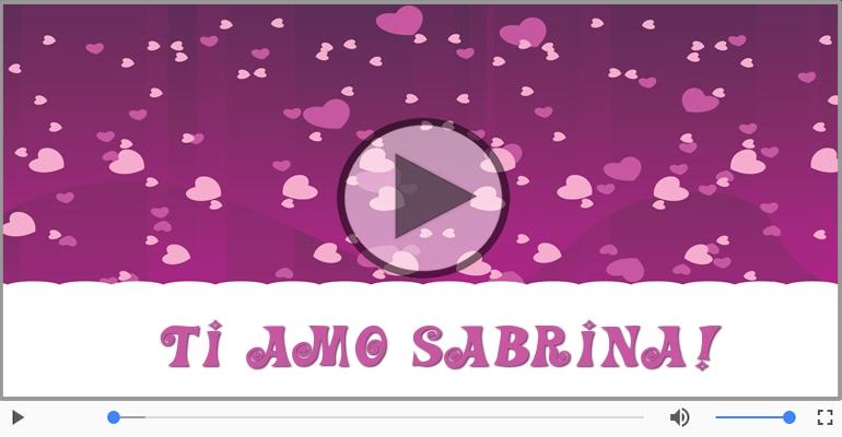 Cartoline musicali d'amore - Sabrina, Sei il grande amore della mia vita!