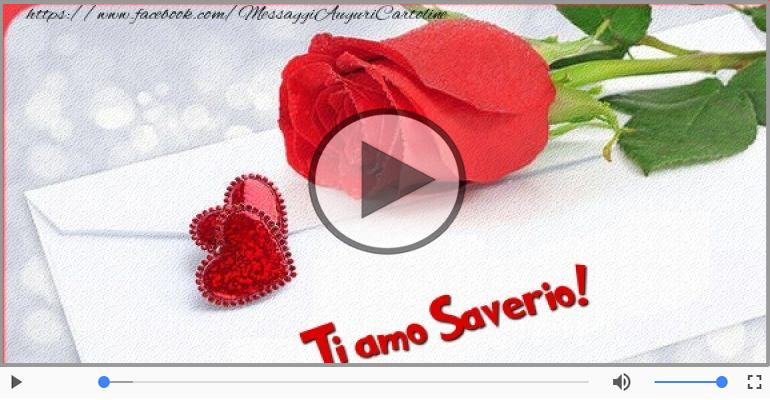Cartoline musicali d'amore - Saverio, Ti amo tanto!