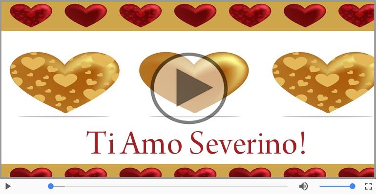 Cartoline musicali d'amore - Severino, Ti amo tanto!