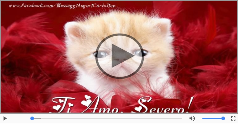 Cartoline musicali d'amore - Severo, Ti amo tanto!