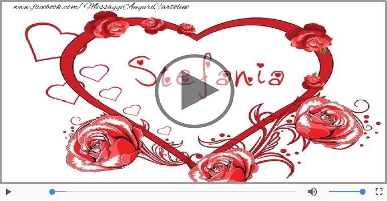 Cartoline musicali d'amore - Stefania, Sei il grande amore della mia vita!