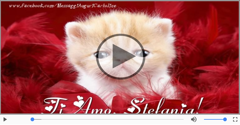 Cartoline musicali d'amore - Stefania, Ti amo tanto!