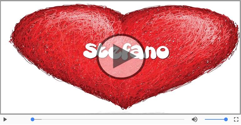 Cartoline musicali d'amore - Stefano, Ti amo tanto!
