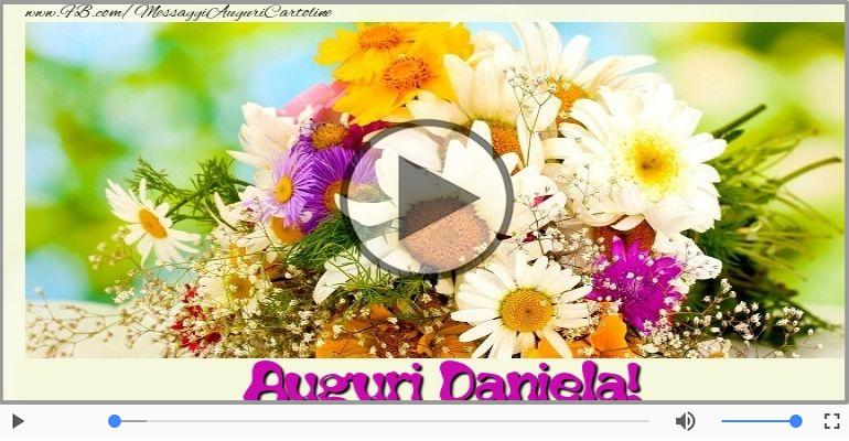 Cartoline musicali di auguri - Tanti auguri Daniela!