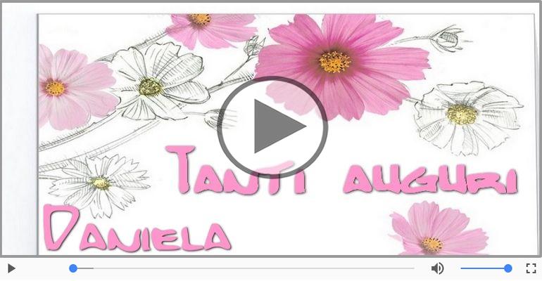 Cartoline musicali di auguri - Tanti auguri, Daniela!