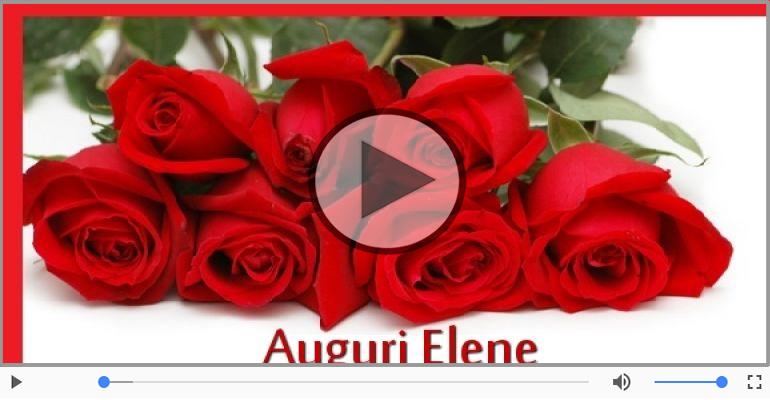 Cartoline musicali di auguri - Tanti auguri a te Elene!