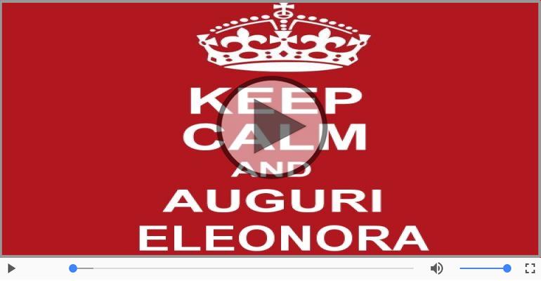Cartoline musicali di auguri - Tanti auguri a te Eleonora!