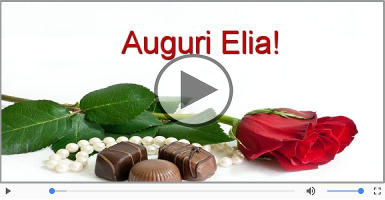Cartoline musicali di auguri - Tanti auguri Elia!