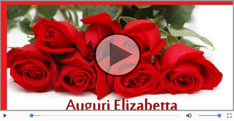 Cartoline musicali di auguri - Tanti auguri, Elizabetta!
