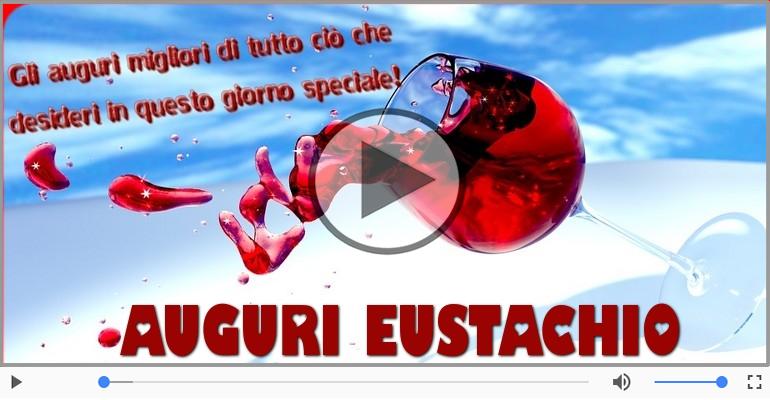 Cartoline musicali di auguri - Tanti auguri, Eustachio!