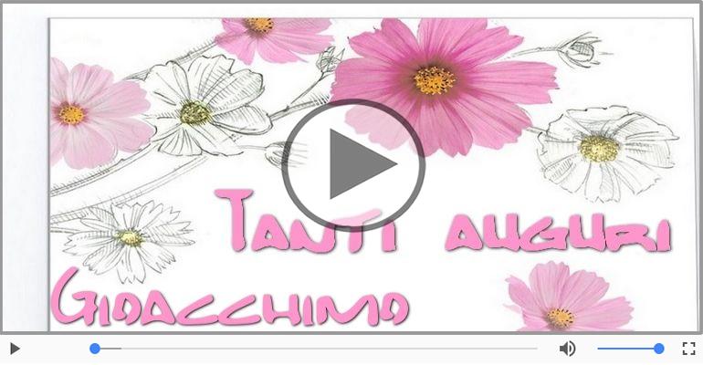 Cartoline musicali di auguri - Tanti auguri, Gioacchimo!