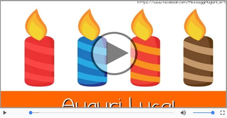 Cartoline musicali di auguri - Tanti Auguri di Buon Compleanno Luca!