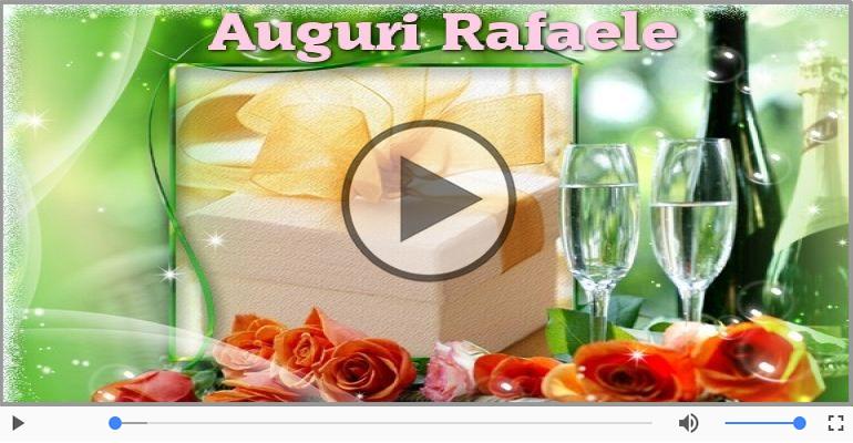 Cartoline musicali di auguri - Tanti auguri, Rafaele!