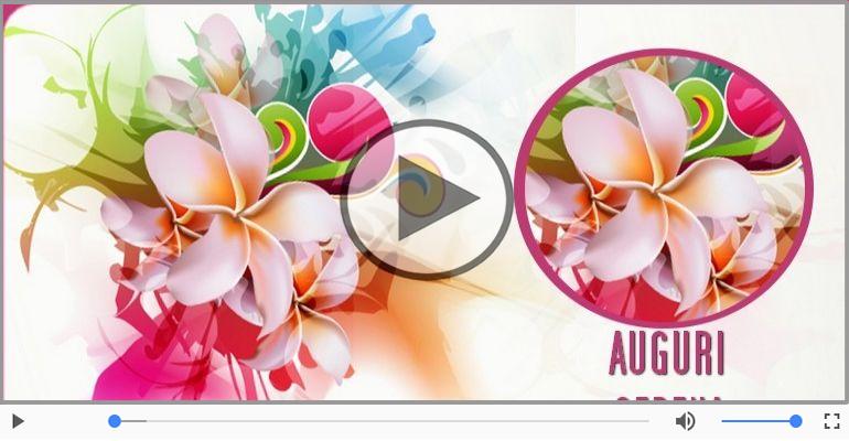 Cartoline musicali di auguri - Tanti Auguri di Buon Compleanno Serena!