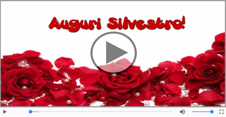 Cartoline musicali di auguri - Tanti auguri, Silvestro!
