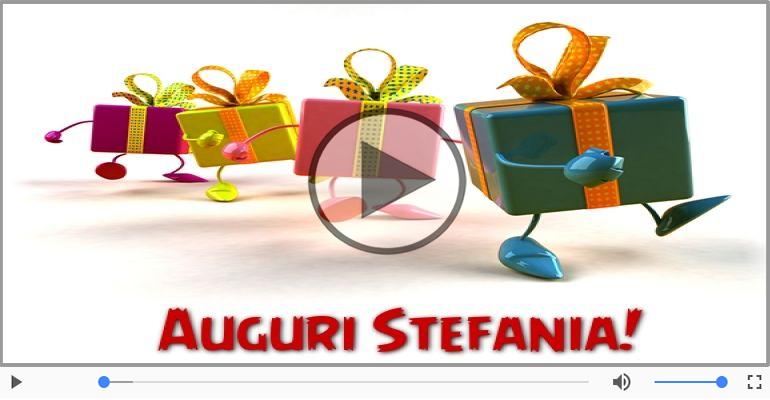 Cartoline musicali di auguri - Tanti auguri, Stefania!