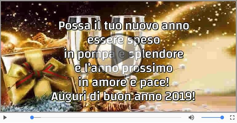 Cartoline musicali di Buon Anno - Auguri di buon anno 2019!