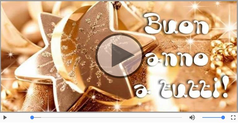 Cartoline musicali di Buon Anno - Buon Anno 2018!