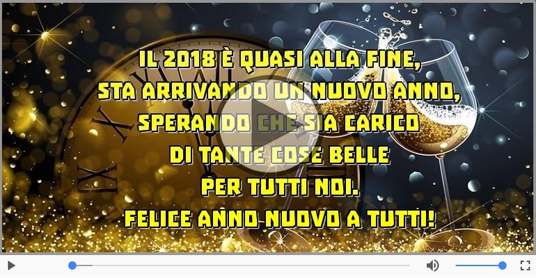 Cartoline musicali di Buon Anno - Felice anno nuovo a tutti!