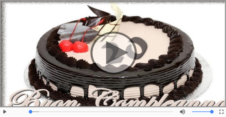 Cartoline musicali Per 20 anni - Happy Birthday 20 anni!