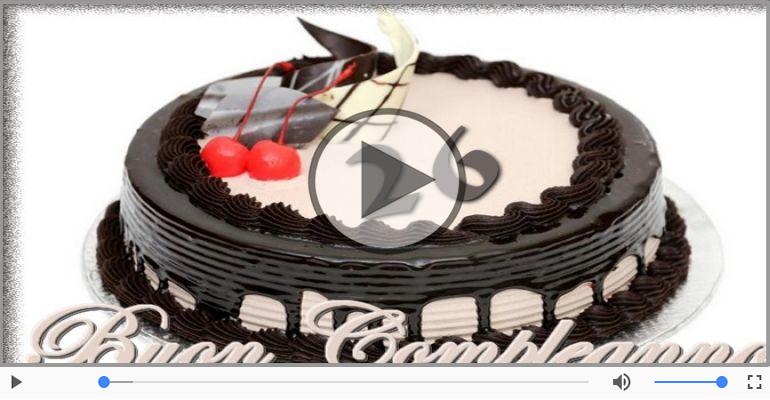 Cartoline musicali Per 26 anni - Cartoline animate e musicali: Buon Compleanno 26 anni!