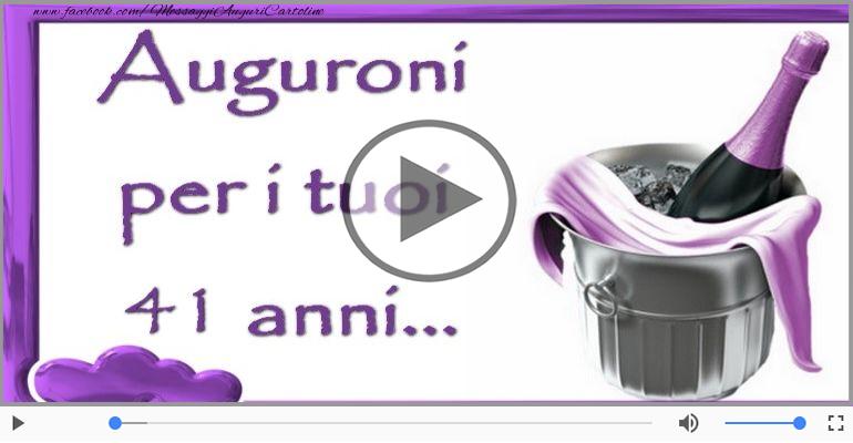 Cartoline musicali Per 41 anni - 41 anni, Tanti Auguri!