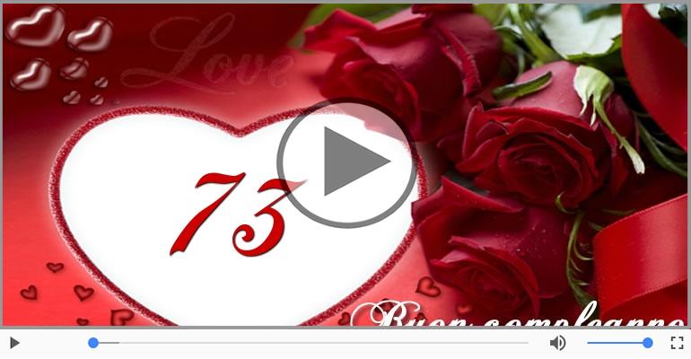 Cartoline musicali Per 73 anni - 73 anni, Tanti Auguri!