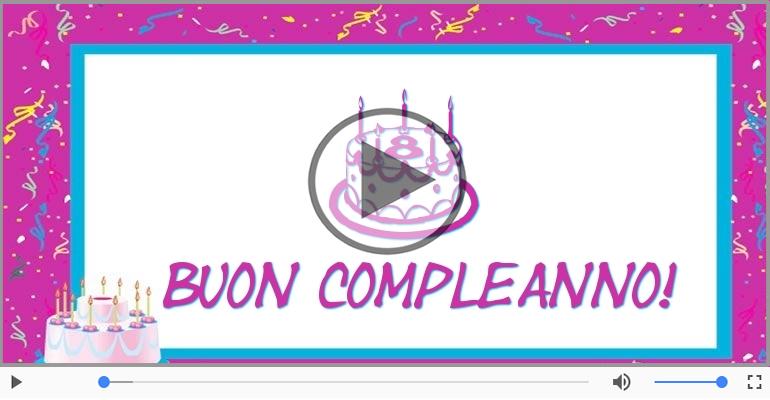 Cartoline musicali Per 8 anni - Happy Birthday 8 anni!