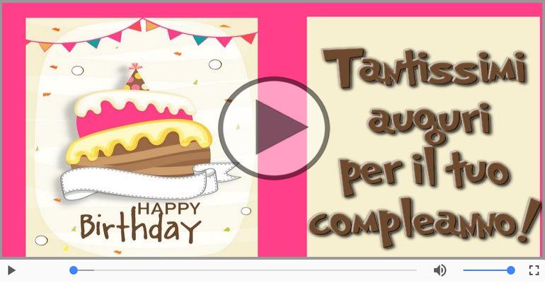 Happy Birthday! Buon Compleanno!