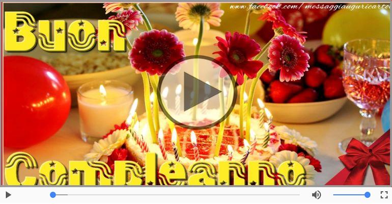 Cartoline musicali di compleanno - Tanti auguri di Boun Compleano!